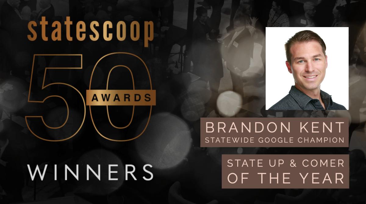 StateScoop 50 Winner Brandon Kent